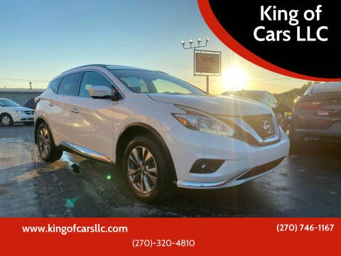 2015 Nissan Murano for sale at King of Cars LLC in Bowling Green KY