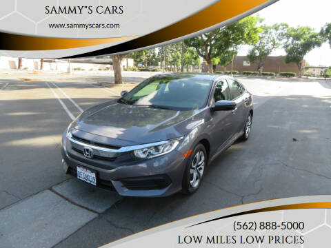 "2018 Honda Civic for sale at SAMMY""S CARS in Bellflower CA"