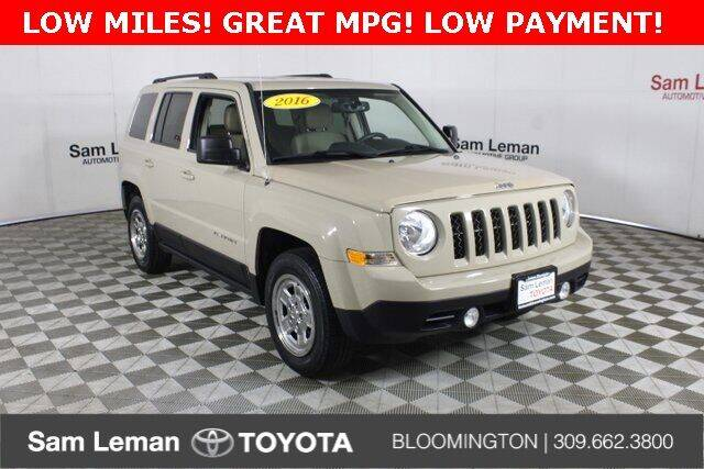 2016 Jeep Patriot for sale at Sam Leman Toyota Bloomington in Bloomington IL