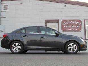 2014 Chevrolet Cruze for sale at Brubakers Auto Sales in Myerstown PA