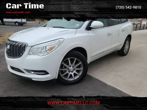 2016 Buick Enclave for sale at Car Time in Denver CO