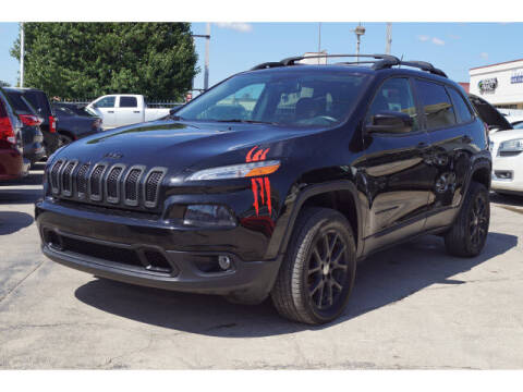 2018 Jeep Cherokee for sale at Monthly Auto Sales in Fort Worth TX