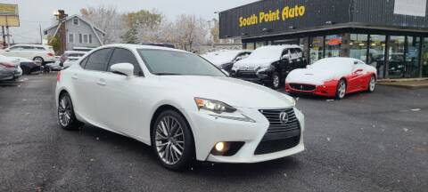 2014 Lexus IS 250 for sale at South Point Auto Plaza, Inc. in Albany NY