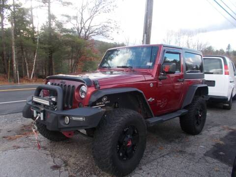 2013 Jeep Wrangler for sale at Manchester Motorsports in Goffstown NH