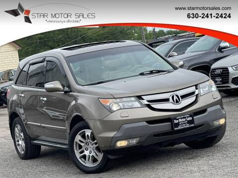 2009 Acura MDX for sale at Star Motor Sales in Downers Grove IL