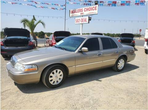 2003 Mercury Grand Marquis for sale at Dealers Choice Inc in Farmersville CA