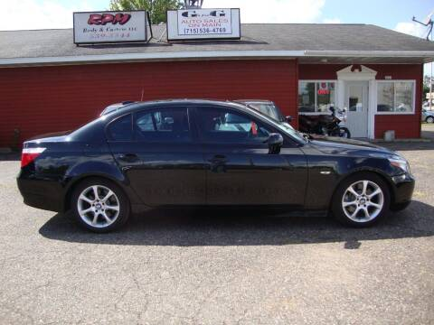 2006 BMW 5 Series for sale at G and G AUTO SALES in Merrill WI