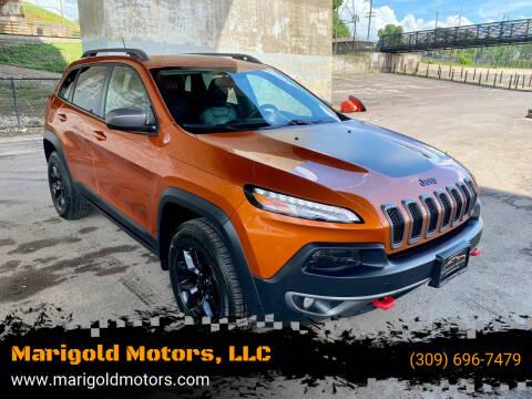 2015 Jeep Cherokee for sale at Marigold Motors, LLC in Pekin IL