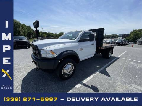 2012 RAM Ram Chassis 5500 for sale at Impex Auto Sales in Greensboro NC