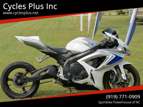 2006 Suzuki GSXR 750 for sale at Cycles Plus Inc in Garner NC