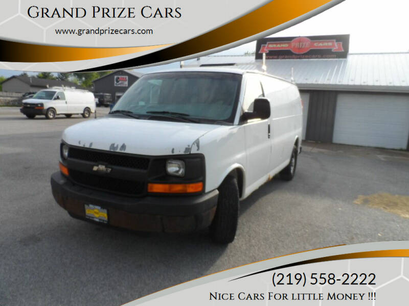 2005 Chevrolet Express Cargo for sale at Grand Prize Cars in Cedar Lake IN