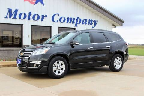 2014 Chevrolet Traverse for sale at Cresco Motor Company in Cresco IA