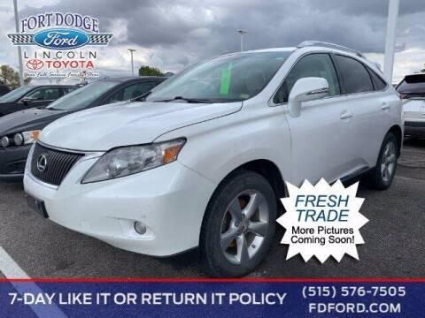 2010 Lexus RX 350 for sale at Fort Dodge Ford Lincoln Toyota in Fort Dodge IA