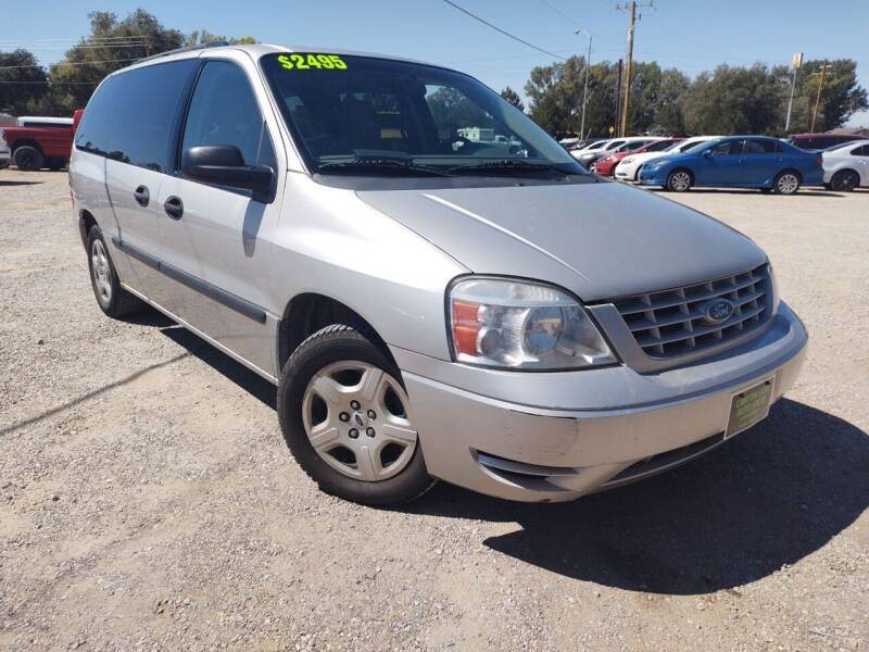 2005 Ford Freestar for sale at Canyon View Auto Sales in Cedar City UT