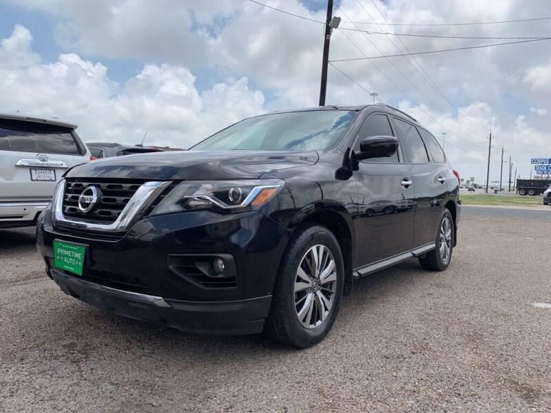 2018 Nissan Pathfinder for sale at Primetime Auto in Corpus Christi TX