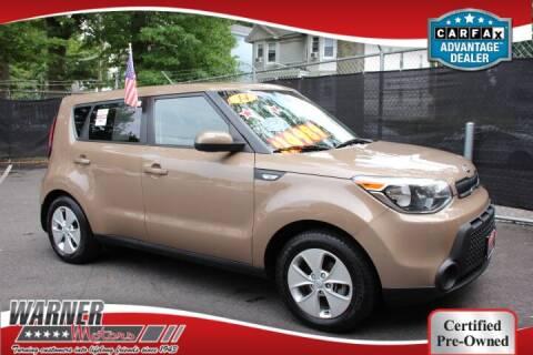 2014 Kia Soul for sale at Warner Motors in East Orange NJ