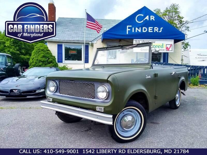 1964 International 1452-SC for sale at CAR FINDERS OF MARYLAND LLC - Classics in Eldersburg MD