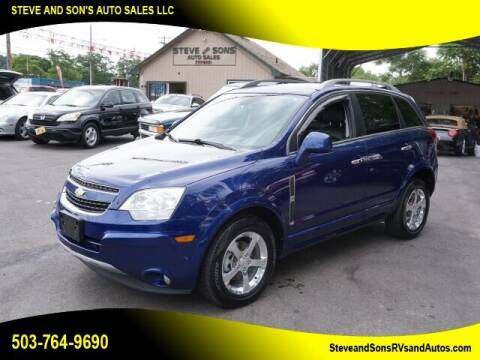 2013 Chevrolet Captiva Sport for sale at Steve & Sons Auto Sales in Happy Valley OR
