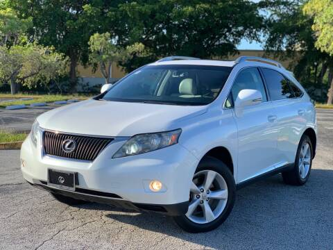 2010 Lexus RX 350 for sale at Citywide Auto Group LLC in Pompano Beach FL