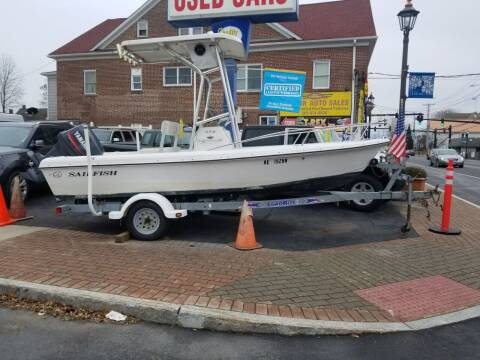 2001 SAILFISH 17.4 for sale at Bel Air Auto Sales in Milford CT
