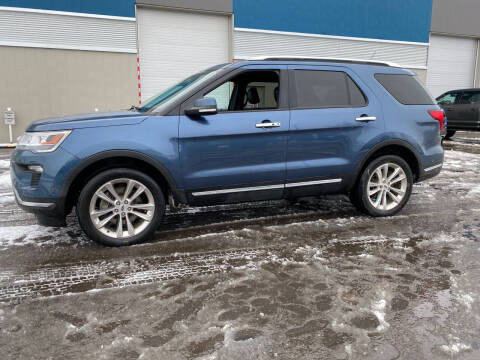 2018 Ford Explorer for sale at Canuck Truck in Magrath AB