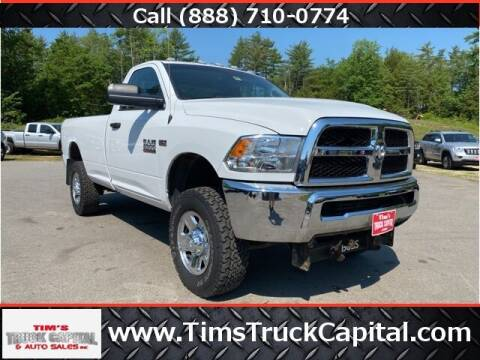 2018 RAM Ram Pickup 2500 for sale at TTC AUTO OUTLET/TIM'S TRUCK CAPITAL & AUTO SALES INC ANNEX in Epsom NH