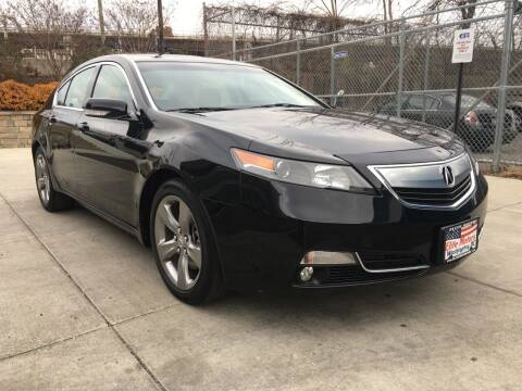 2012 Acura TL for sale at Elite Motors in Washington DC