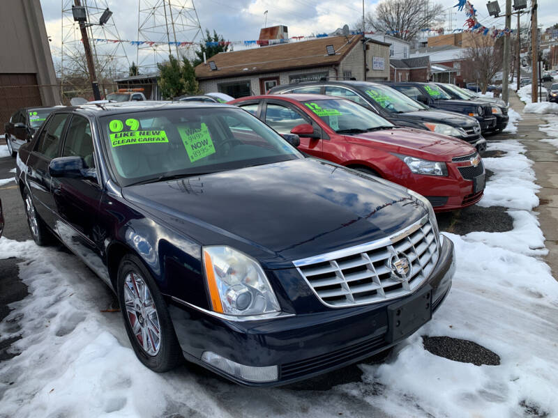 2009 Cadillac DTS for sale at Big T's Auto Sales in Belleville NJ