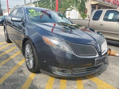 2014 Lincoln MKS for sale at USA Auto Brokers in Houston TX