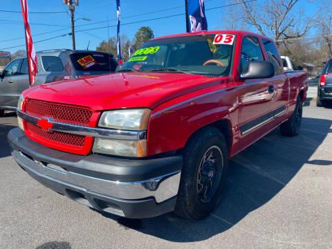 2003 Chevrolet Silverado 1500 for sale at Cars for Less in Phenix City AL