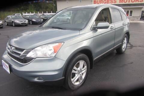 2011 Honda CR-V for sale at Burgess Motors Inc in Michigan City IN