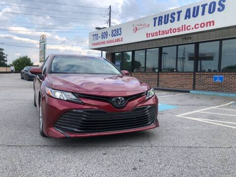 2018 Toyota Camry for sale at Trust Autos, LLC in Decatur GA