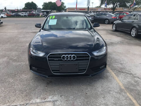 2013 Audi A4 for sale at SOUTHWAY MOTORS in Houston TX