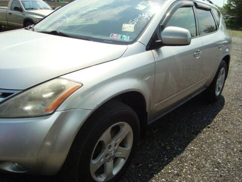 2003 Nissan Murano for sale at Branch Avenue Auto Auction in Clinton MD