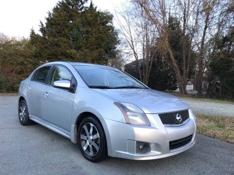 2012 Nissan Sentra for sale at Pristine AutoPlex in Burlington NC