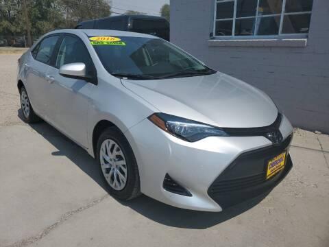 2018 Toyota Corolla for sale at CHURCHILL AUTO SALES in Fallon NV
