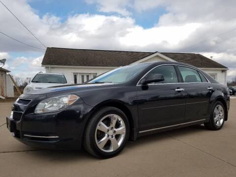 2012 Chevrolet Malibu for sale at CarNation Auto Group in Alliance OH