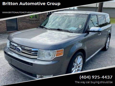 2010 Ford Flex for sale at Britton Automotive Group in Loganville GA