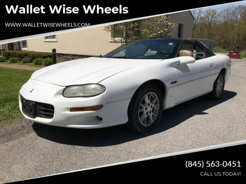 2002 Chevrolet Camaro for sale at Wallet Wise Wheels in Montgomery NY