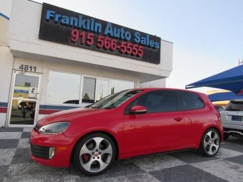 2010 Volkswagen GTI for sale at Franklin Auto Sales in El Paso TX