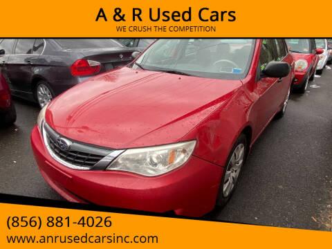 2008 Subaru Impreza for sale at A & R Used Cars in Clayton NJ