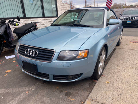 2006 Audi A4 for sale at Story Brothers Auto in New Britain CT