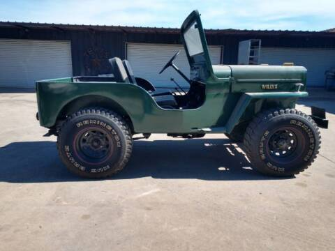 1954 Willys Jeep for sale at Classic Car Deals in Cadillac MI