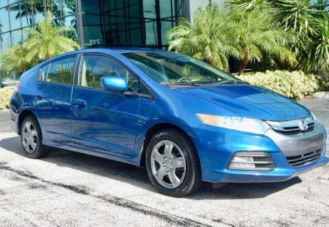 2012 Honda Insight for sale at VE Auto Gallery LLC in Lake Park FL