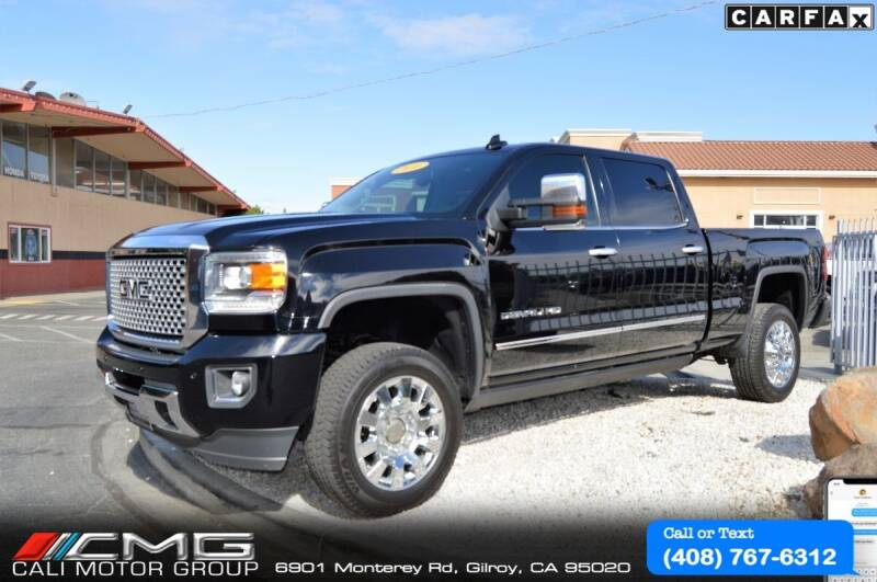 2016 GMC Sierra 2500HD for sale at Cali Motor Group in Gilroy CA