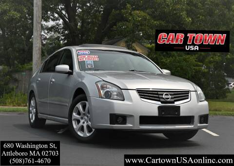 2008 Nissan Maxima for sale at Car Town USA in Attleboro MA