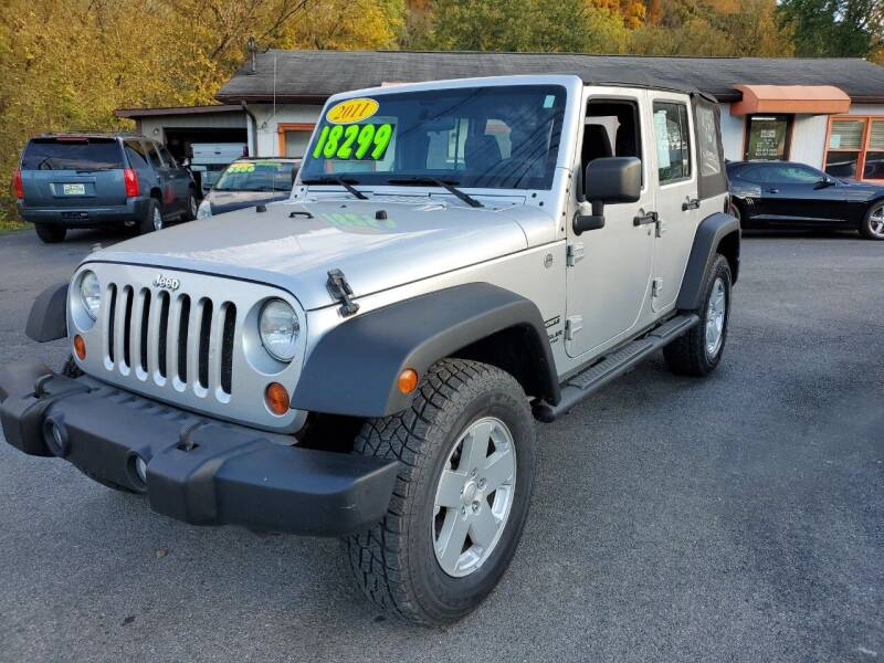 2011 Jeep Wrangler Unlimited for sale at Kerwin's Volunteer Motors in Bristol TN