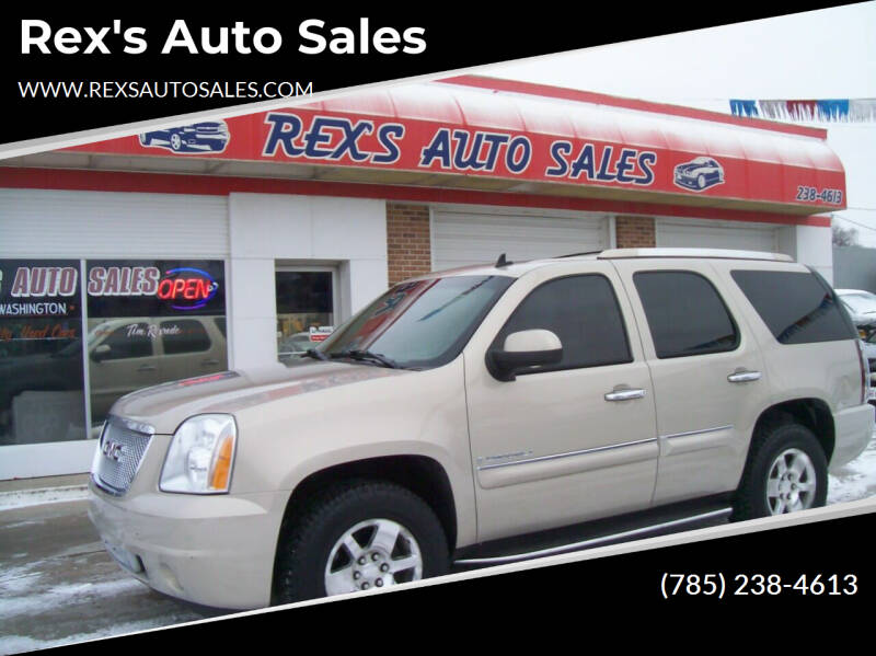 2007 GMC Yukon for sale at Rex's Auto Sales in Junction City KS