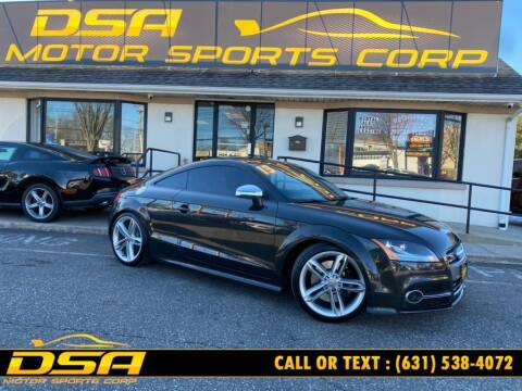 2013 Audi TTS for sale at DSA Motor Sports Corp in Commack NY
