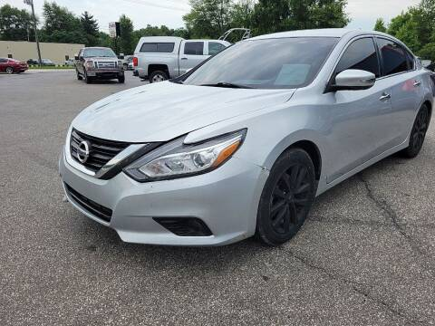 2018 Nissan Altima for sale at Cruisin' Auto Sales in Madison IN
